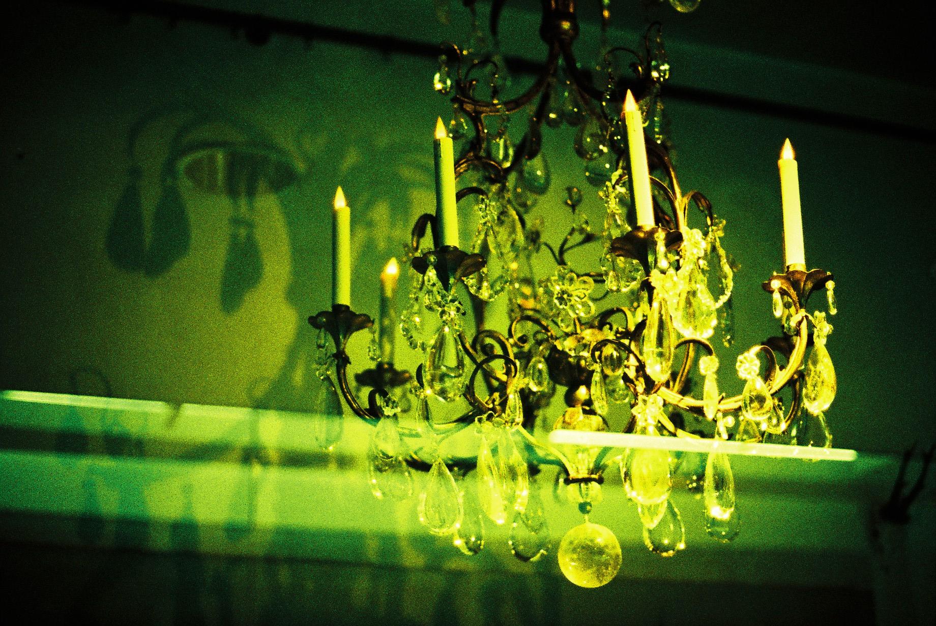 leuchter-gruen